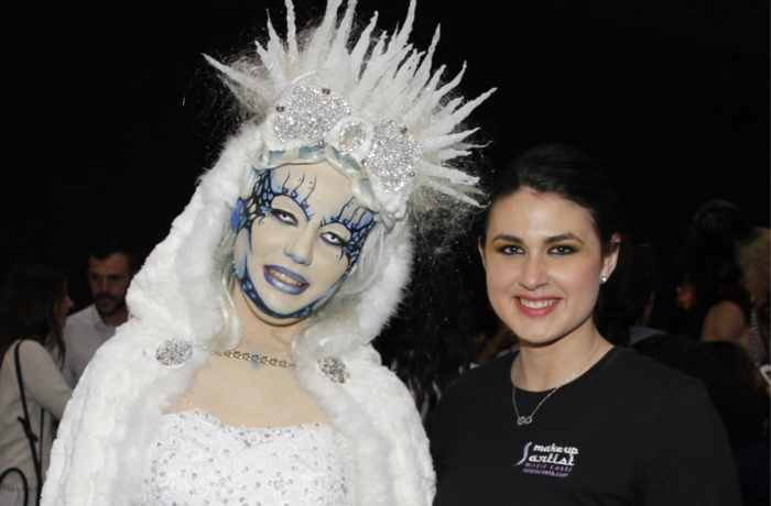 Maquillaje fantasia Ice Queen